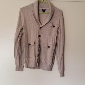 H&M men's  light gray sweater size small